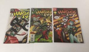 Batman Harley And Ivy 1-3 VF Very Fine DC Comics A33
