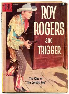 Roy Rogers and Trigger #122 1958- Dell Western- Alex Toth FAIR