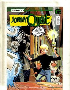 10 Johnny Quest Comico Comic Books #13-22 JF21