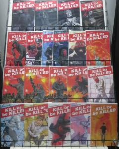 KILL OR BE KILLED (Image, 2017) #1-20 Complete! VF-NM Brubaker,Philips