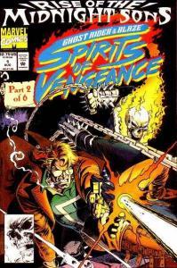 Ghost Rider/Blaze: Spirits of Vengeance #1, NM (Stock photo)