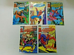 Amazing Spider-Man Set #1-9 8.0 VF (1985)