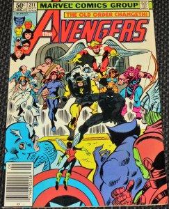 The Avengers #211 (1981)