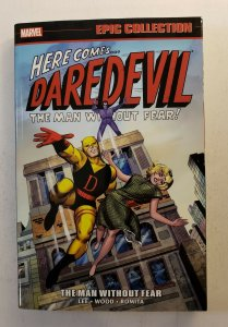 DAREDEVIL THE MAN WITHOUT FEAR EPIC COLLECTION VOL.1 TPB SOFT COVER FIRST PRINT