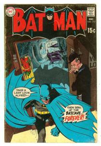 Batman 217   Neal Adams cover