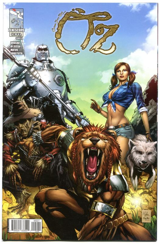 GRIMM FAIRY TALES presents OZ #2 B, VF+, Dorothy, 2013, more GFT's in our store