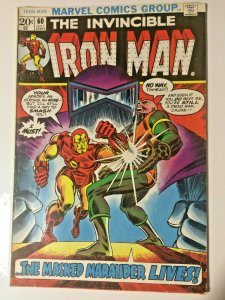 Marvel Iron Man #60 (1968) Mark Jewelers Insert Masked Marauder See Pictures!