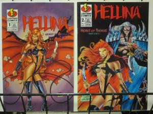 HELLINA HEART OF THORNS (1996 LIGHTNING) 1-2B