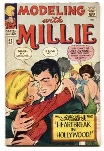 MODELING WITH MILLIE #42 Marvel Romance comic book 1965