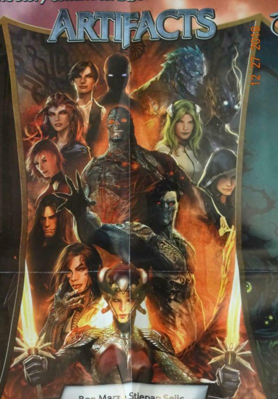 WITCHBLADE ARTIFACTS DARKNESS Promo Poster, 18 x 24, 2011, IMAGE Unused 399