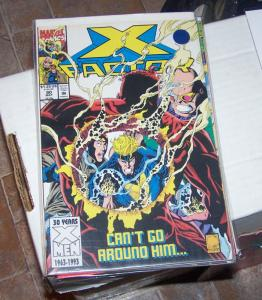 X-Factor # 90 1993 marvel    GENOSHA HAVOC POLARIS