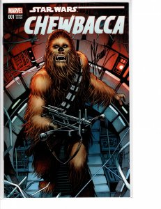 Chewbacca (2015) #1 Limited Edition Alternate Cover Signed w/COA