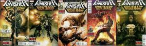 PUNISHER NIGHTMARE (2013) 1-5  COMPLETE! COMICS BOOK