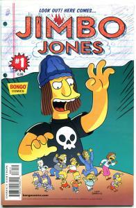JIMBO JONES #1, NM, w/ Skull sticker, Simpsons, 2015, more Bongo in store