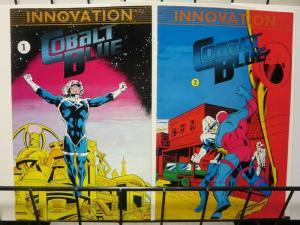 COBALT BLUE (1989 IV) 1-2  GUSTOVICH  complete!