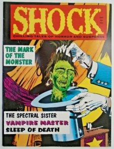 mm Shock (1969) v2, #4vf/nm Jay Disbrow