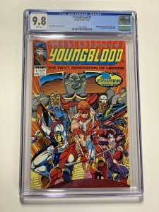 Youngblood 1 Cgc 9.8 White Pages Image Comics