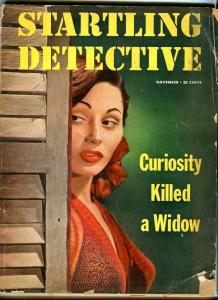 STARTLING DETECTIVE-NOV/1951-CURIOUS WIDOWS-POISON-PASSION SLAYINGS-BOMBS G