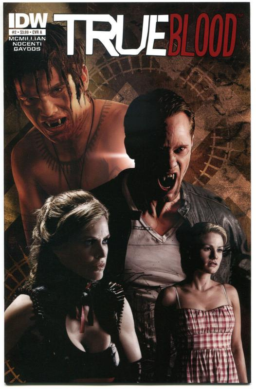 TRUE BLOOD #2, NM, 2012, Vampire, Eric, Sookie, Bill, more Horror in store
