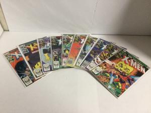 Uncanny X-Men 161-170 Lot Set Run Vf-Nm Very Fine-Near Mint Marvel Comics