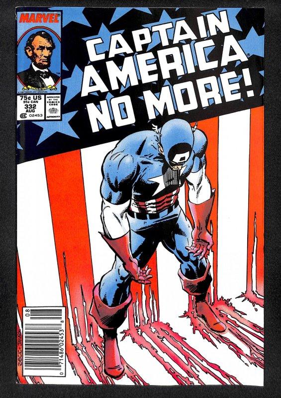 Captain America #332 (1987)