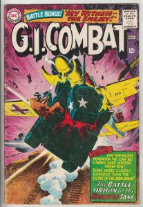 G.I. Combat #114 (Nov-65) VG/FN Mid-Grade The Haunted Tank