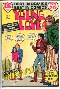 YOUNG LOVE #97-GREAT ISSUE-DC ROMANCE-COOL VG/FN