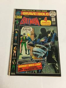Brave And The Bold 100 Vf- Very Fine- 7.5 DC Comics