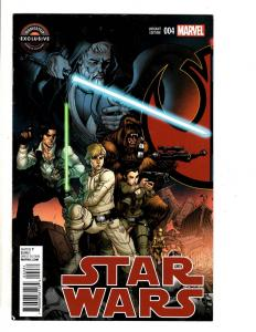 Star Wars # 4 VF Gamestop Exclusive Variant Cover Marvel Comic Book TW65