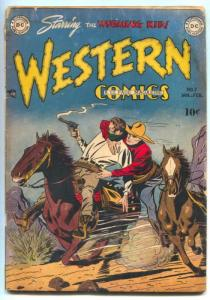 Western Comics #7 1949-WYOMING KID- DC golden age G