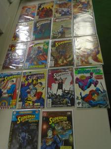 Superman Annual Comic Lot 35 different books average 8.0 VF (years vary)