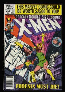 X-Men #137 VF+ 8.5 White Pages