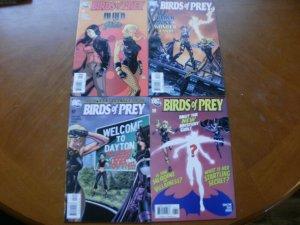 4 DC Comic: BIRDS OF PREY #95 Black Jade #96 Alice #97 Piper #98 Mystery Girl