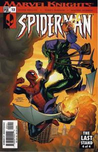 Marvel Knights Spider-Man #12 FN; Marvel   save on shipping - details inside