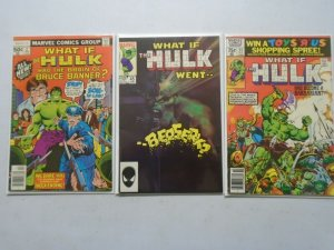 What If lot 3 different Hulk issues avg 6.0 FN