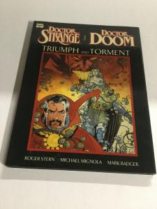 Doctor Strange And Doctor Doom Triumph And Torment Marvel Graphic Novel B19