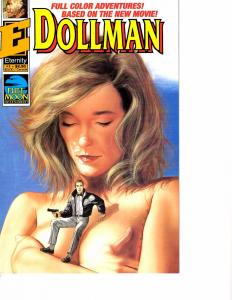 Lot Of 2 Comic Book Eternity Dollman #1 and Image Youngblood #1 AH12