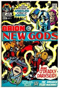 NEW GODS #2 (Apr1971) 8.0 VF  JACK KIRBY's Amazing Fourth World Saga! DARKSEID!