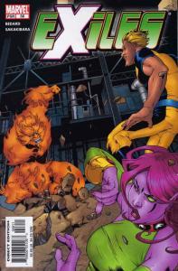 Exiles (Marvel) #58 VF/NM; Marvel   save on shipping - details inside