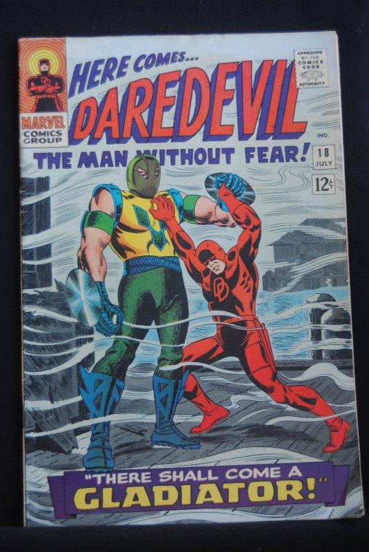Daredevil 18, Gladitor