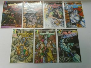 Chromium Man 2 sets #0-10 and Violent Past #1+2 6.0 FN (1994)