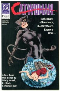 Catwoman #1 1989-Comic Book-DC-Batman high grade NM