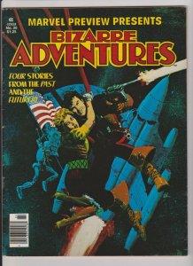 BIZARRE ADVENTURES #20 HOWARD CHAYKIN'S DOMMINIC FORTUNE 1979 MARVEL MAGAZINE