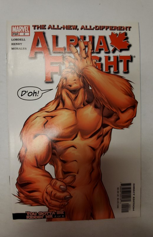 Alpha Flight #2 (2004) NM Marvel Comic Book J667