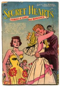 Secret Hearts #17 1953- DC Golden Age Romance- G