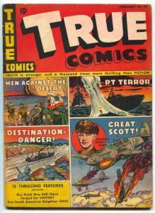 True Comics #32 1944- WWII- Colonel Robert L Scott VG+