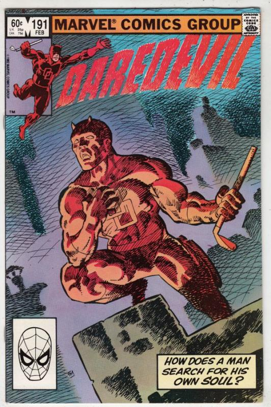 Daredevil #191 (Feb-83) NM- High-Grade Daredevil