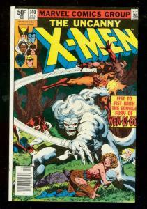 X-MEN #140 1980-WOLVERINE WENDIGO- MARVEL COMICS-ALPHA VF