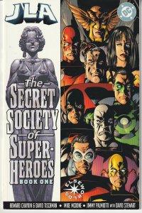 JLA – The Secret Society of Super Heroes # 1, 2
