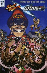 Street Fighter X G.I. Joe #3 VF/NM; IDW | save on shipping - details inside